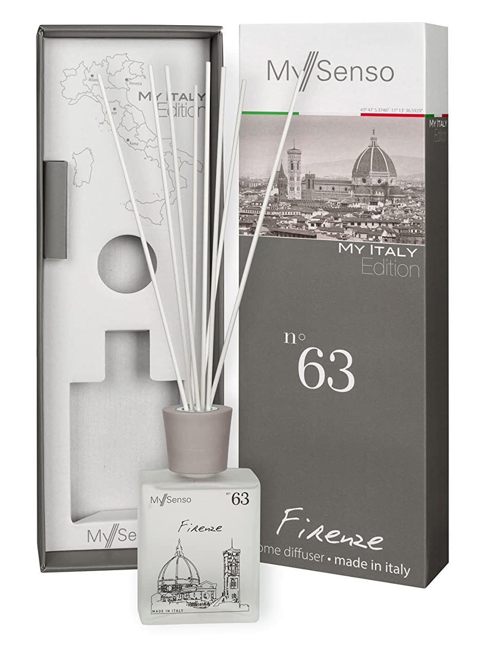 コロニー建築家去るMySenso ディフューザー My Italy Edition No.63 フィレンツェ