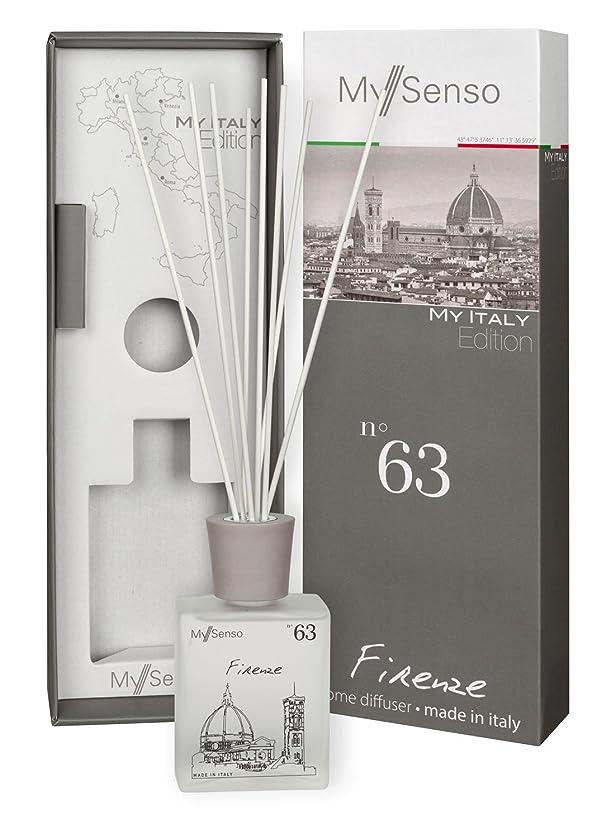 カフェテリア硬さ見る人MySenso ディフューザー My Italy Edition No.63 フィレンツェ