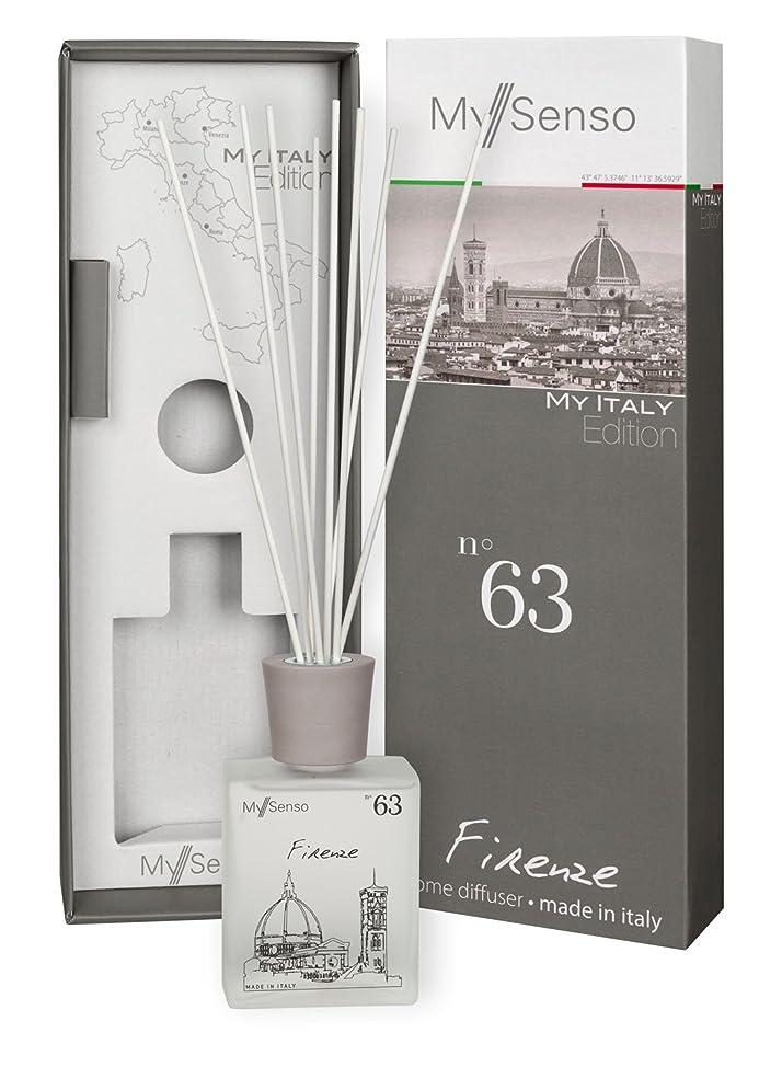 オーブン時計気難しいMySenso ディフューザー My Italy Edition No.63 フィレンツェ