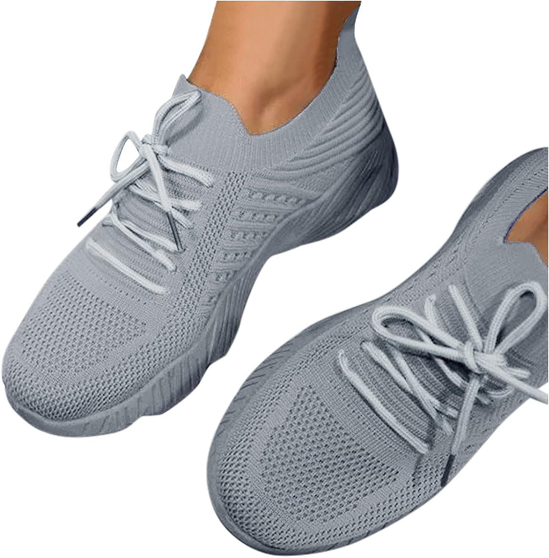 Niceast Women's Sneakers Fashion Slip On Walking Shoes for Women
