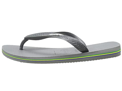 Havaianas Brazil Flip Flops Steel Grey Outlet Footlocker Finishline Sale Wide Range Of Extremely For Sale Cheap Sale With Credit Card 2018 Cheap Online OOHbztIMR