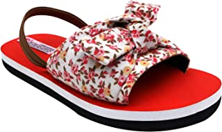 D'chica Printed Chic Sliders for Girls