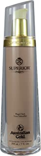Australian Gold SUPERIOR DARK INTENSIFIER (7 ounce) tanning bed lotion. Anti-aging, silicone, melanin enhancing, after tan odor eliminators