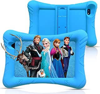 Pritom 7 inch Kids Tablet, 32 GB ROM,Quad Core Processor, HD IPS Display,WiFi Android Tablet,Kid-Proof with Kids Tablet Ca...
