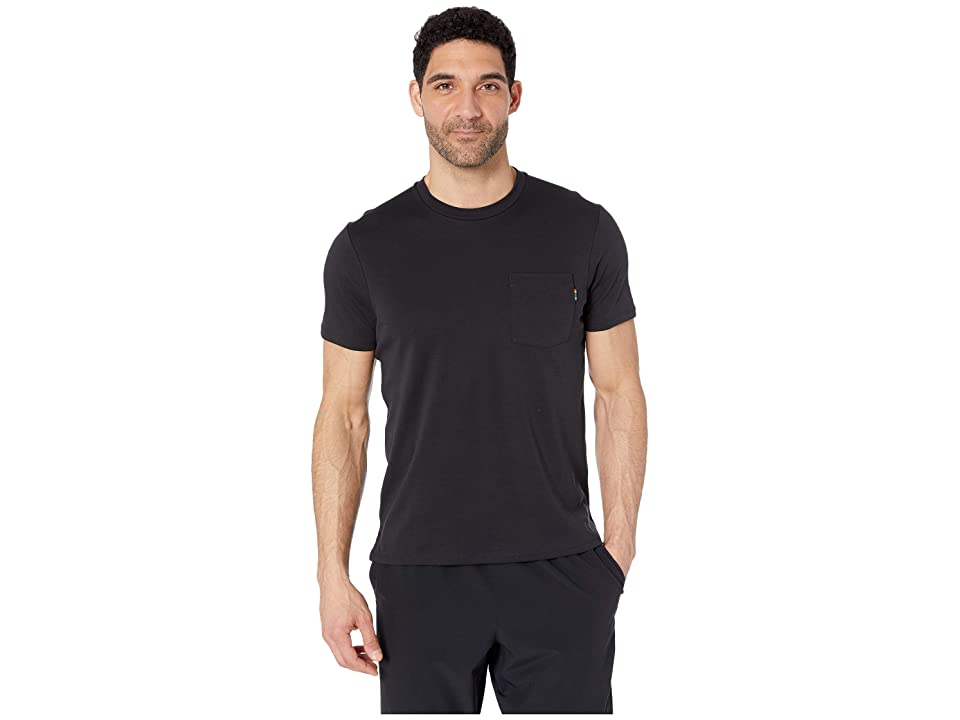 Nike NikeCourt Top Short Sleeve Heritage (Black/White) Men
