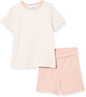 Sanetta Schlafanzug Kurz Rosa Pantoufles Bambins, Silver Pink, 24 Mois Bébé garçon