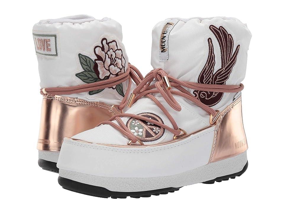 Tecnica Moon Boot Peace Love (Copper/White) Boots