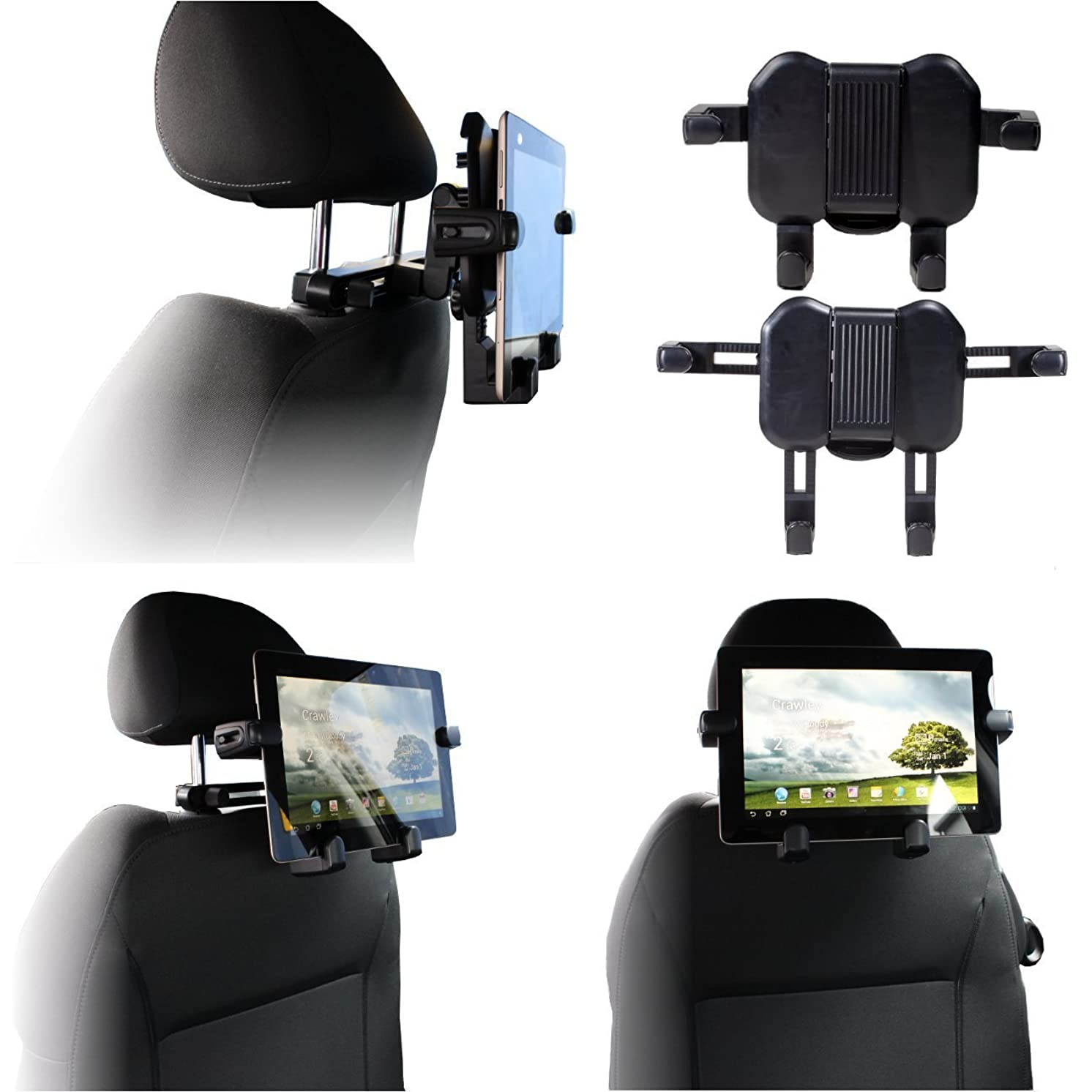 Navitech In Car Portable 2 in 1 Laptop / Tablet Head Rest / Headrest Mount / Holder For The Acer Switch 3