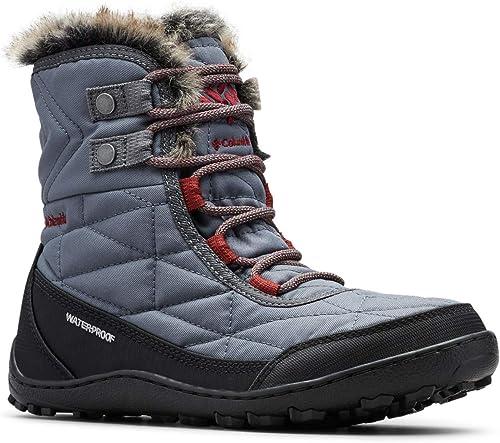 Columbia Wouomo Minx Shorty III Ankle avvio, Graphite, deep Rust, 5 Regular US