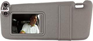 SAILEAD Sun Visor for 2007 2008 2009 2010 2011 Toyota Camry and Camry Hybrid with Sunroof and Light (Gray, Left Driver Side)