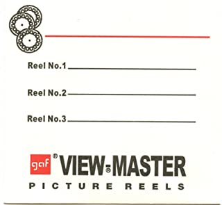 3 Reel Sleeves for View-Master Packets - USA - Gaf - Pack of 25 - NEW