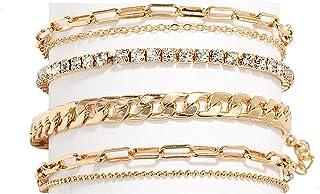 ست دستبند مچ پا Nanafast 4-6PCS برای زنان