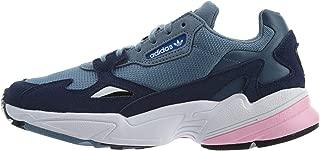 adidas Originals Falcon W, Raw Grey/Light Pink, 8.5 US