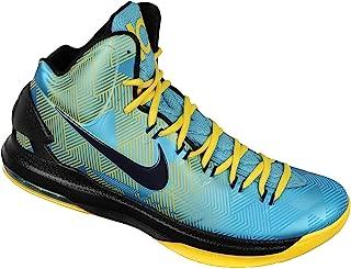 Nike Men's KD VI N7 Basketball Shoes 13 M US Turquoise Blue Yellow