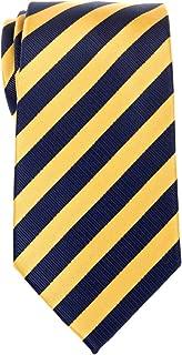 Retreez Exquisite Regimental Stripe Woven Microfiber Men's Tie - Various Colors