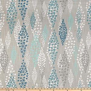 Premier Prints Angelo Slub Canvas Fountain Fabric by The Yard