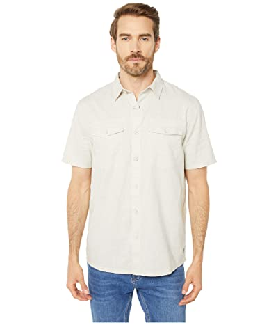 Royal Robbins Seaview Hemp Short Sleeve Shirt (Soapstone) Men