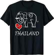 I Love Thailand Elephant Souvenir T-shirt