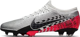 Nike Men's Vapor 13 PRO NJR FG Soccer Cleats (Chrome/Black-Red Orbit)