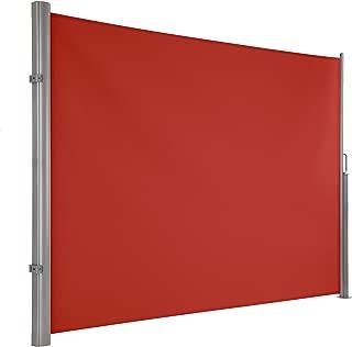 Ultranatura Maui - Toldo Lateral persiana Enrollable como Pantalla de protección Visual para Fijar verticalmente, 300 x 180 cm, Naranja