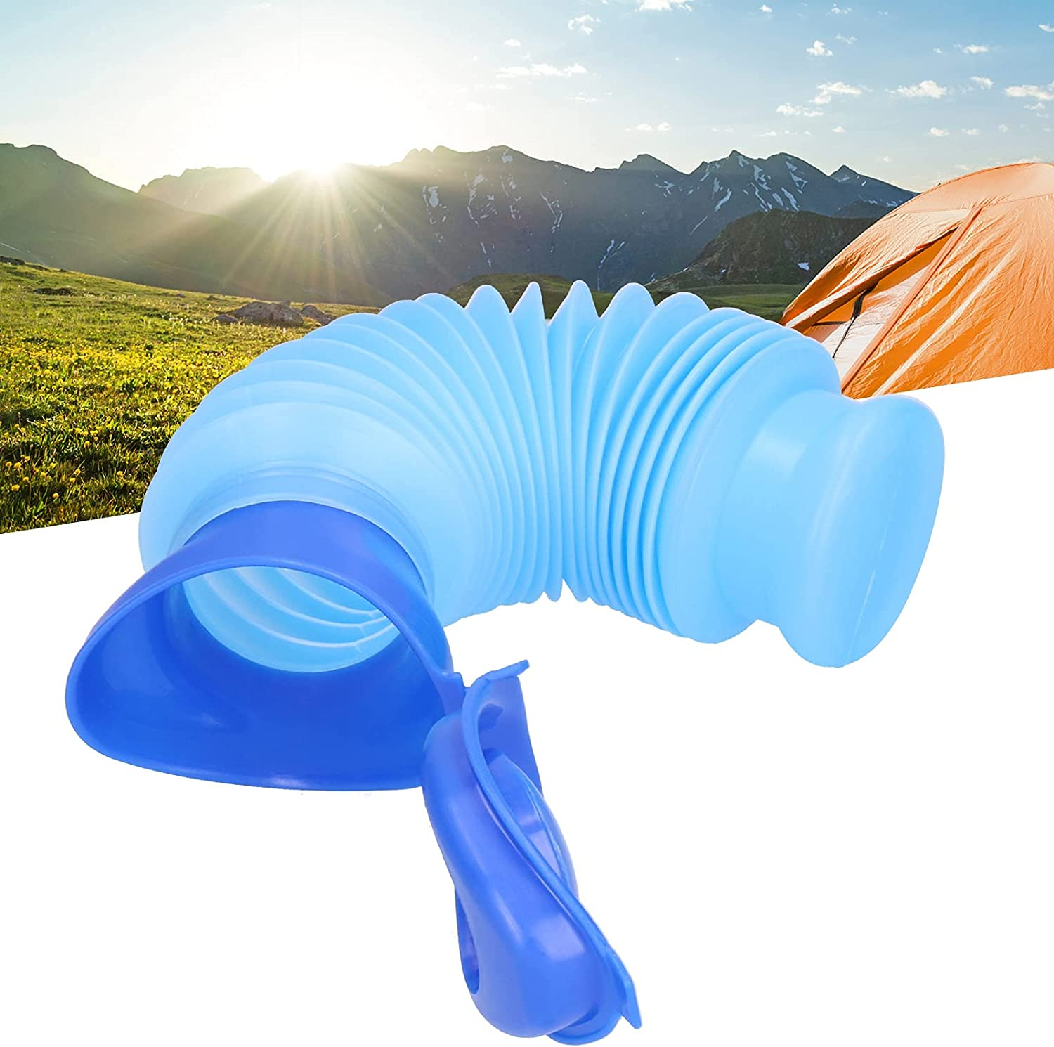 Travel Potty latest Urine Max 68% OFF Bottle Foldable for Outdoor Campi Unisex