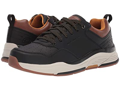 SKECHERS Relaxed Fit Benago Treno (Black) Men