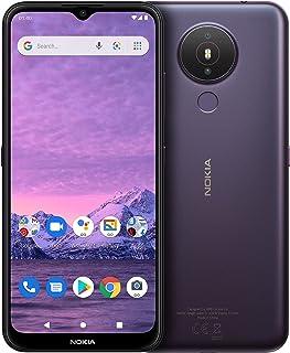"Nokia 1.4 Android Smartphone Dual Sim, 3GB RAM, 64 GB Memory, 6.51""HD+Edge-to-Edge Screen, Face Unlock, Finger Print – Purple"