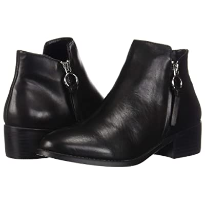 Steve Madden Dacey Bootie (Black Leather) Women