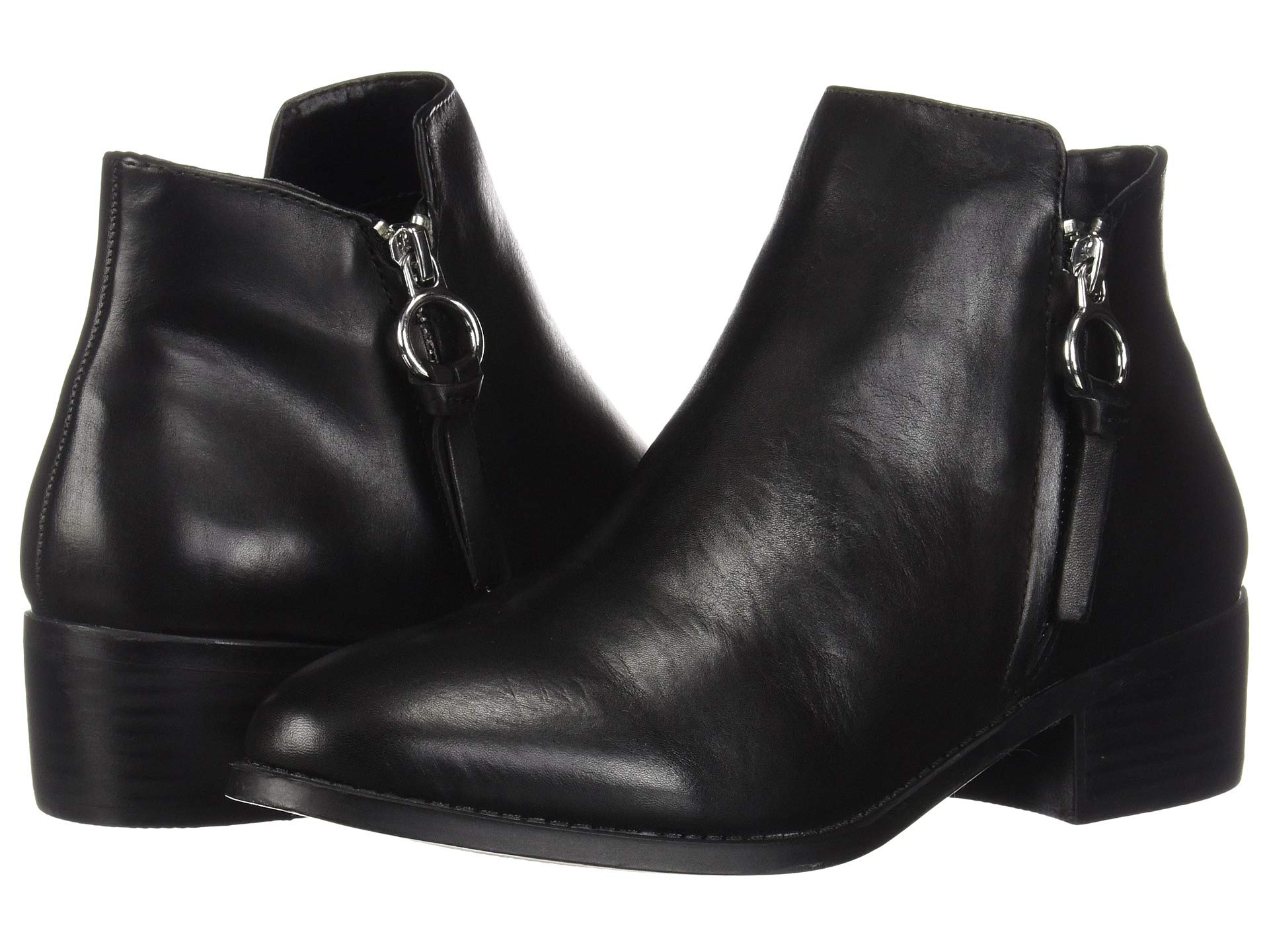 Madden Steve Bootie Black Leather Dacey OxwnqdaRn