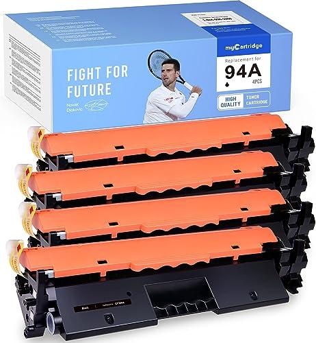 discount MYCARTRIDGE Compatible Toner Cartridge discount Replacement for HP CF294A 94A Work with high quality Laserjet Pro M148dw M118dw M148fdw M149fdw (4 Black) outlet sale