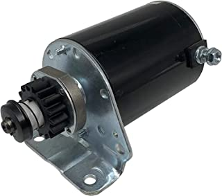 SHUmandala Starter Motor Replace for Briggs & Stratton Engines 12 Volt, CCW Rotation 390838 497594 497595 5-22 HP 5742 391...