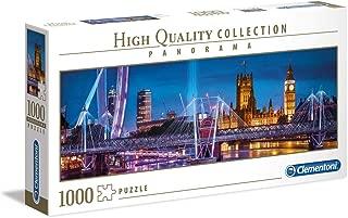 Clementoni Panorama Puzzle The Bridge Of London, Multi-Colour, 1000 Pieces