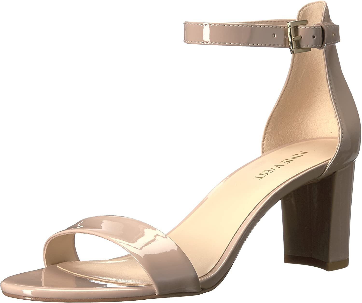 NINE Fort Worth Mall WEST Women's Pruce Now free shipping Heeled Sandal
