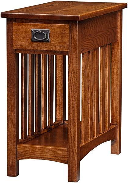 Leick Furniture Mission Side Table Medium Oak