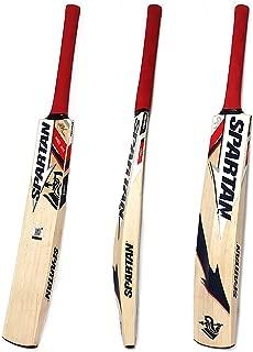 Spartan MS Dhoni King Kashmir Willow Bat Size 4, Size 5, Size 6, and Size Short Handle, Harrow Size