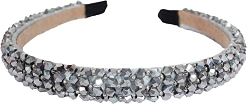 Vogue Hair Accessories New Limited Edition Crystal Beaded Fancy Party Wedding Hairband Headband Hair Accessories