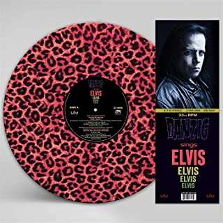 Sings Elvis - A Gorgeous Pink Leopard Picture Disc Vinyl [Analog]