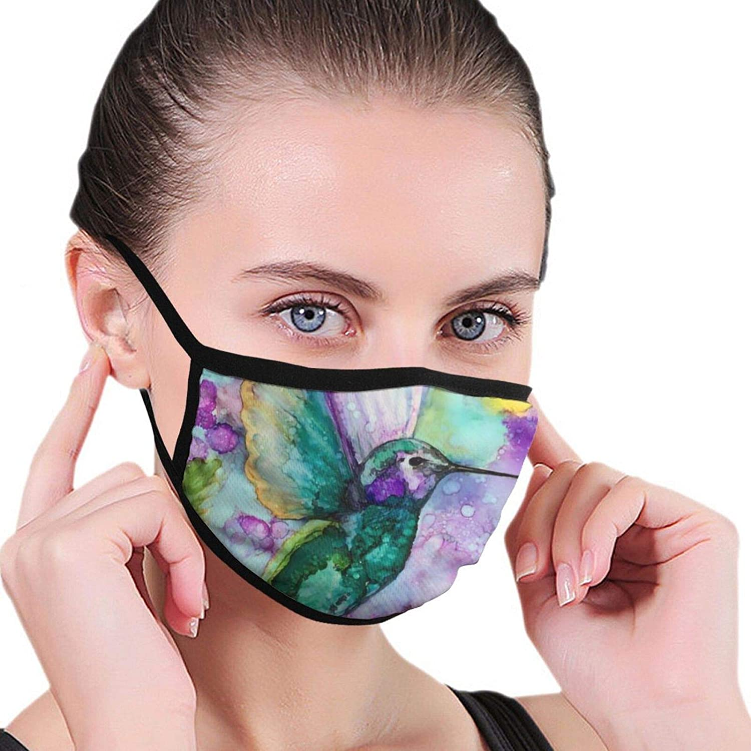 LANJYF 2 Packs Anti-Dust Octopus Tentacles Skull Face Cloth Mouth Protection Unisex Cotton