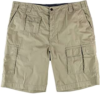 686aa070b4 Nautica Mens Flight Casual Cargo Shorts Brown 38 Tall - Big & Tall