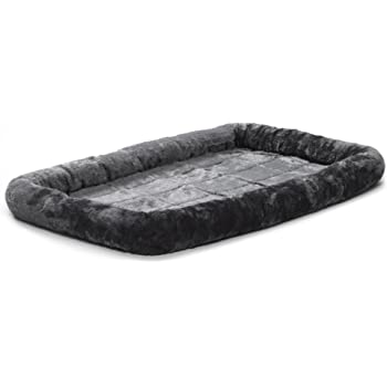 MidWest Bolster Pet Bed | Dog Beds Ideal for Metal Dog Crates | Machine Wash & Dry