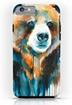 Roses Garden Phone Case Protectivedesign Cell Case Grizzly Bear Tough Case iPhone 6