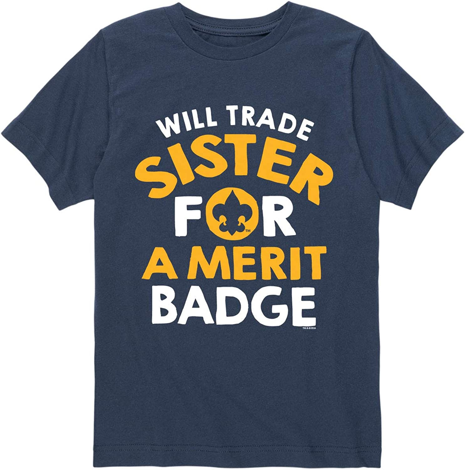 Boy Scouts OFFicial mail order of America Will Trade Shor Youth Sister - Badge Merit Long-awaited