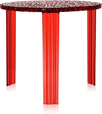 T-Table Side Table d'appoint 44 cm Rouge