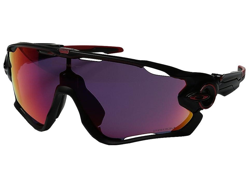 Oakley Jawbreaker (Matte Black/Prizm Road) Sport Sunglasses