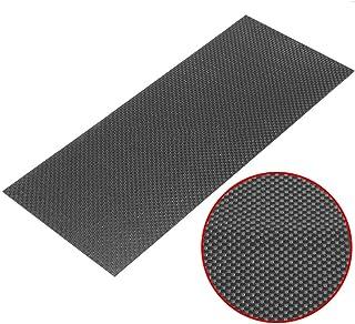 SOFIALXC Carbon Fiber Sheet 100/% Carbon Board Laminate Matte Finish for CNC Machined Parts,250x400mm,0.5mm