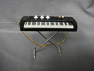 "Black Electric Keyboard Piano Ornament 3.5"" Tree Orn"