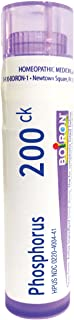Boiron Phosphorus 200CK, 80 Pellets, Homeopathic Medicine for Dizziness