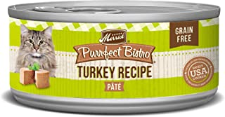 Merrick Purrfect Bistro Grain Free Cat Recipes Turkey Pate