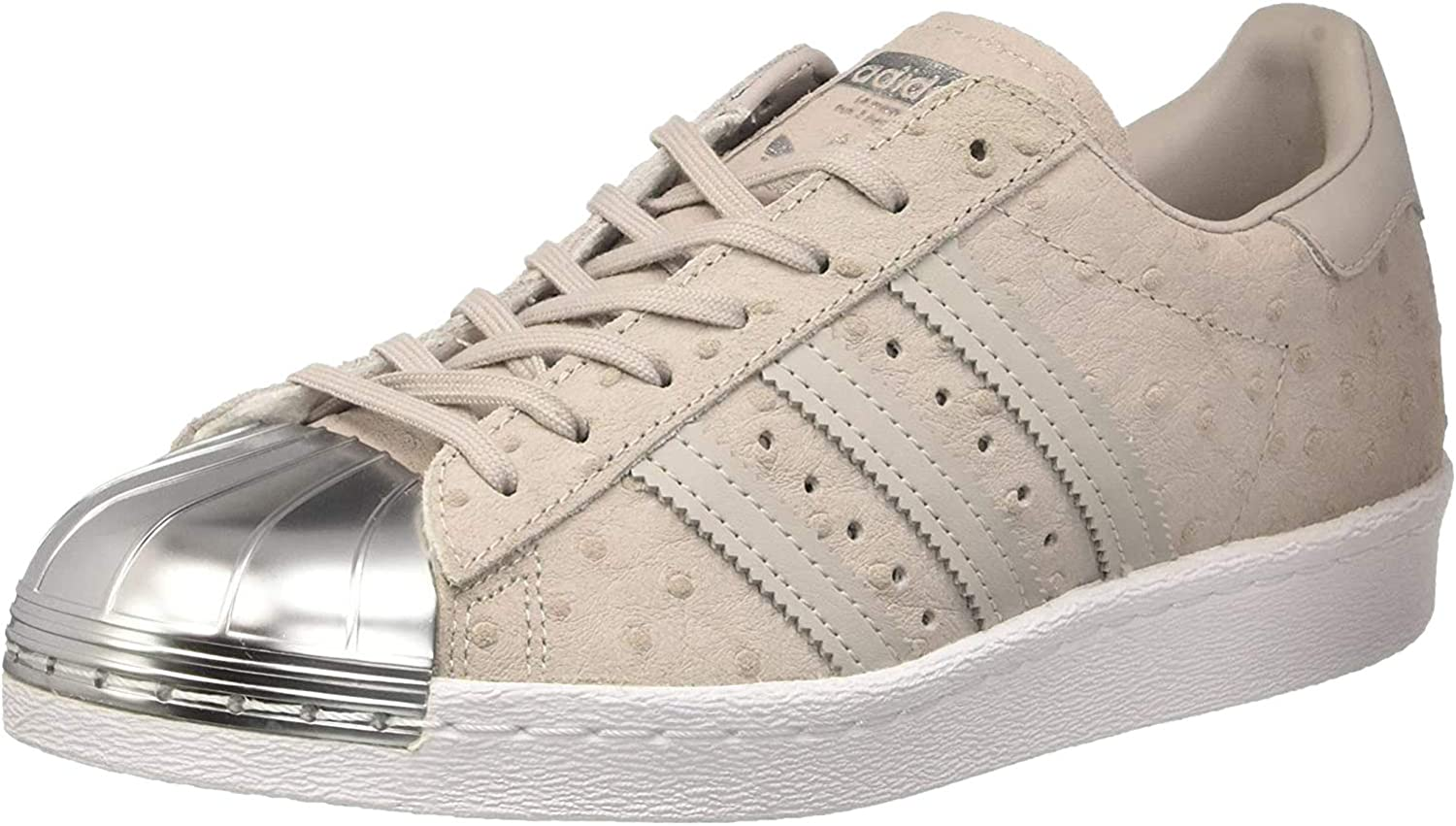 adidas Superstar 80s Metal Toe W chaussures 3,5 grey/silver, Gris ...