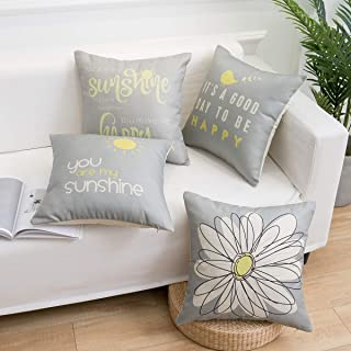 Best daisy pillow cover Reviews